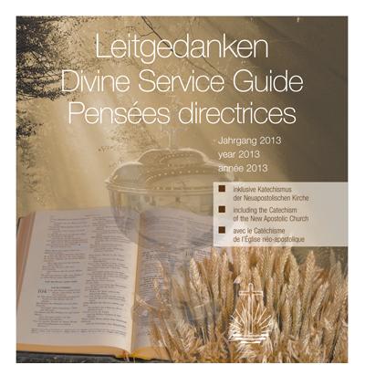 Leitgedanken zum Gottesdienst Jahrgang 2013 (CD-ROM)