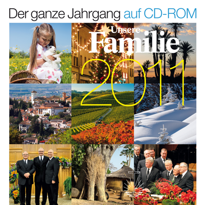 Unsere Familie Jahrgang 2011 (CD-ROM)