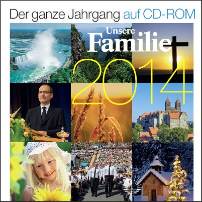 Unsere Familie Jahrgang 2014 (CD-ROM)