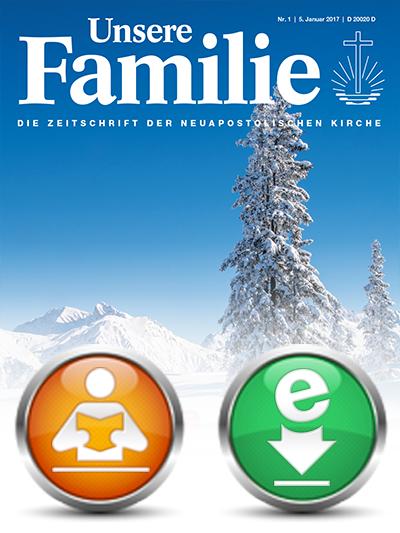 Unsere Familie, 2017, eMagazin (Einzelausgaben)