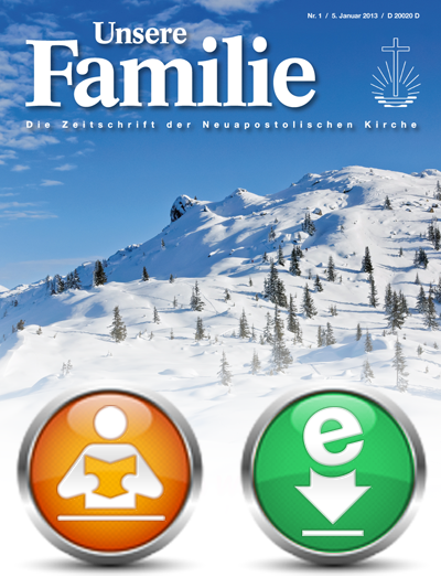 Unsere Familie, eMagazin, Abo (Abonnement)