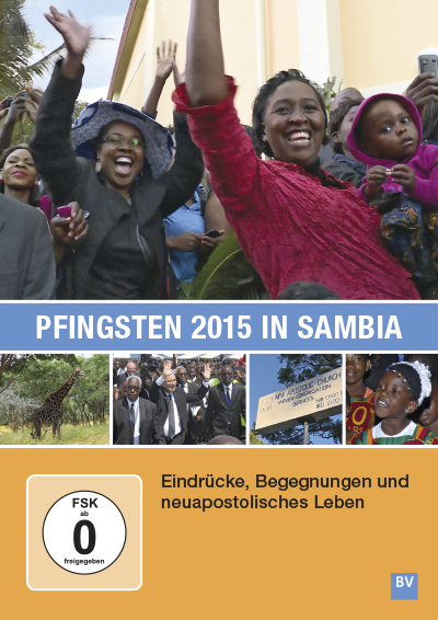 Pfingsten 2015 in Sambia (DVD)