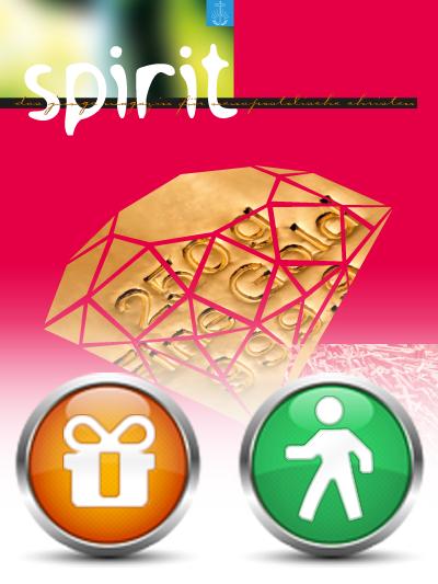 spirit, Geschenkabo (Deutschland) Lieferung über den Verlagsbeauftragten