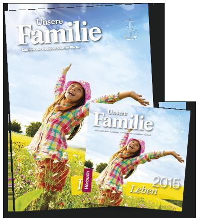 Kalender Unsere Familie 2015 inkl. Hörbuch, deutsch