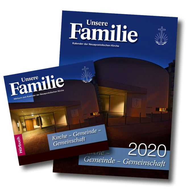 Kalender & Hörbuch 2020 Unsere Familie