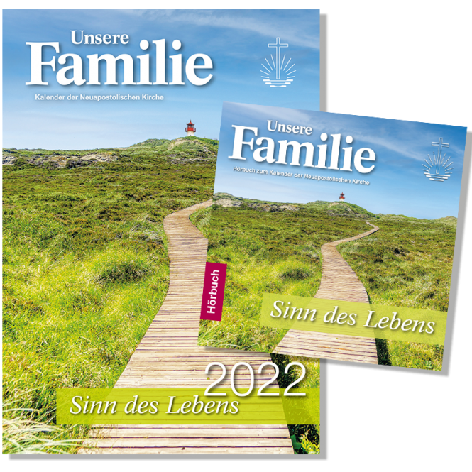 Kalender & Hörbuch 2022 Unsere Familie