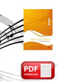 Flötenstimme in B (PDF)