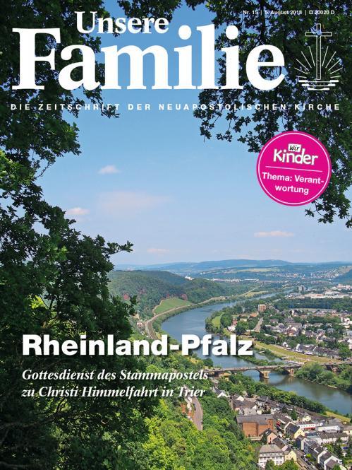 Unsere Familie, 2018, Ausgabe 15 + Wir Kinder, Thema: Verantwortung