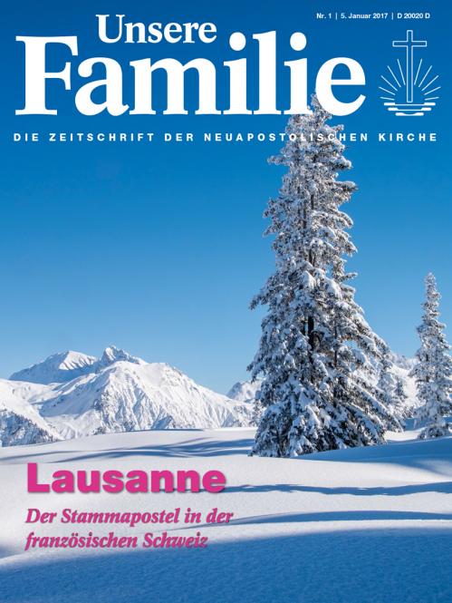 Unsere Familie, 2017, Ausgabe 01