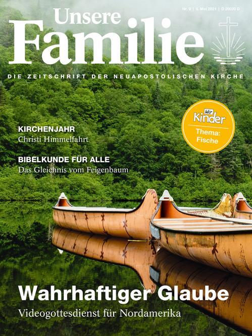 Unsere Familie, 2021, Ausgabe 09 + Wir Kinder, Thema: Fische