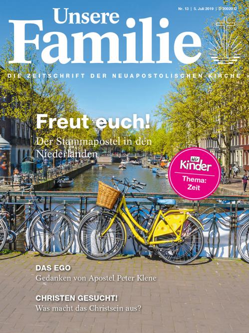Unsere Familie, 2019, Ausgabe 13 + Wir Kinder, Thema: Zeit