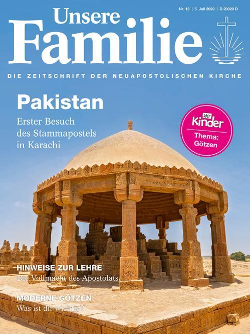 Unsere Familie, 2020, Ausgabe 13 + Wir Kinder, Thema: Götzen