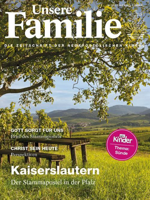 Unsere Familie, 2021, Ausgabe 13 + Wir Kinder, Thema: Sünde