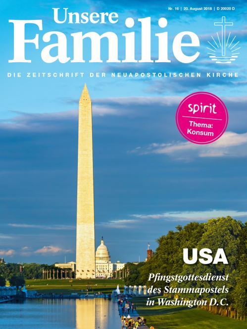Unsere Familie, 2018, Ausgabe 16 + spirit, Thema: Konsum