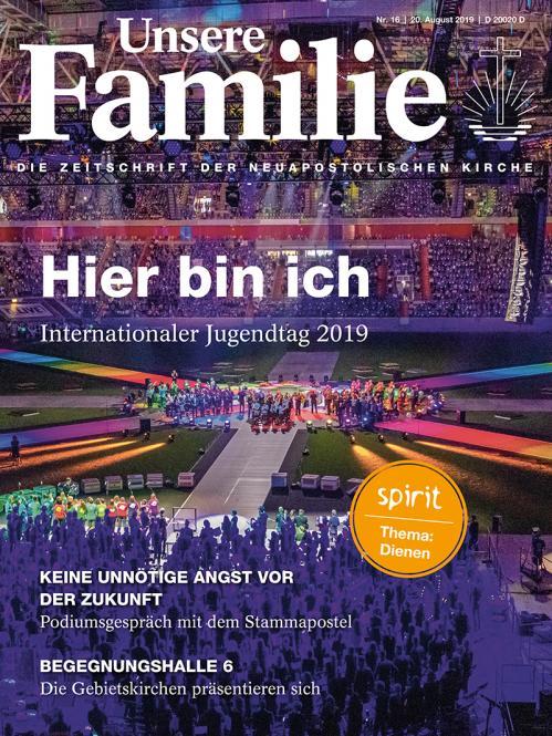 Unsere Familie, 2019, Ausgabe 16 + spirit, Thema: Stille