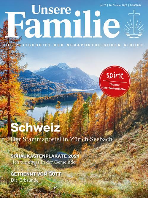 Unsere Familie, 2020, Ausgabe 20 + spirit, Thema: Einfach leben