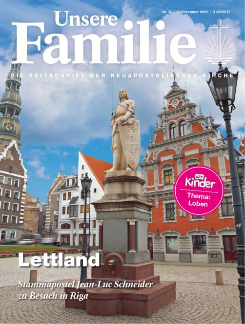 Unsere Familie, 2018, Ausgabe 23 + Wir Kinder, Thema: Loben