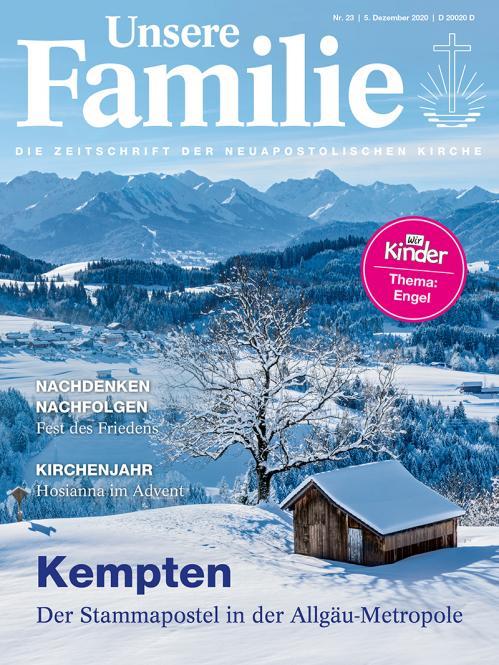 Unsere Familie, 2020, Ausgabe 23 + Wir Kinder, Thema: Engel
