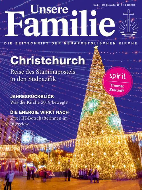 Unsere Familie, 2019, Ausgabe 24 + spirit, Thema: Zukunft