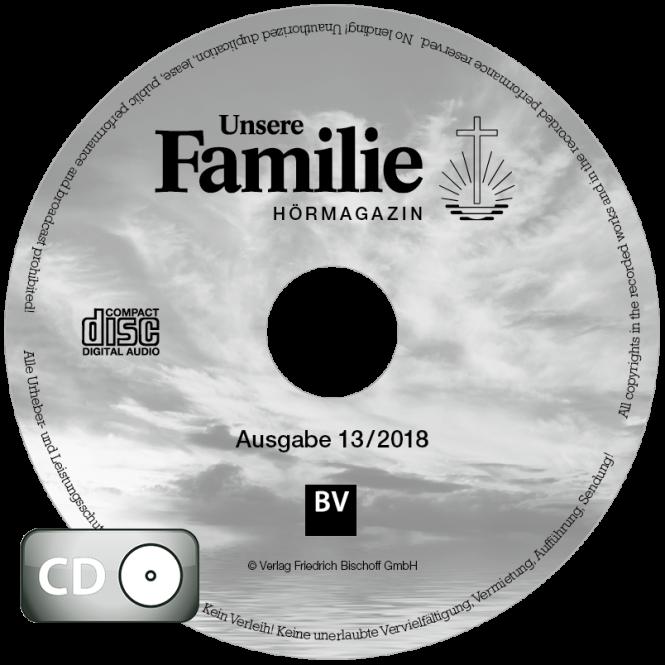 Hörmagazin UF, 2018, Ausgabe 13 (CD)
