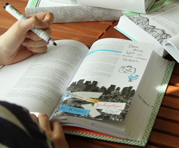 Neues Leben Bibel, Art Journaling Neues Testament und Psalmen