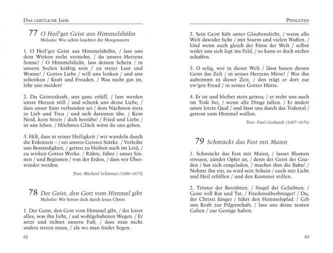 Gesangbuch, Kunstleder Kleine Textausgabe