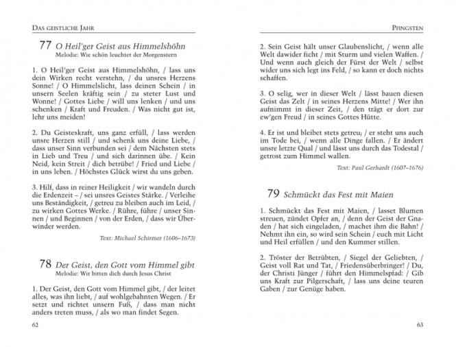 Gesangbuch, Kunstleder Große Textausgabe