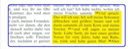Lutherbibel, Taschenausgabe Leder/ Gold, 1984er Übersetzung