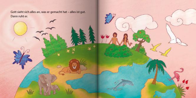 Die Schöpfung Mini-Buch