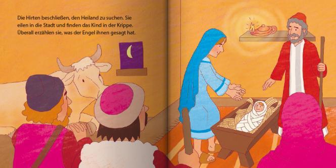 Jesus wird geboren Mini-Buch