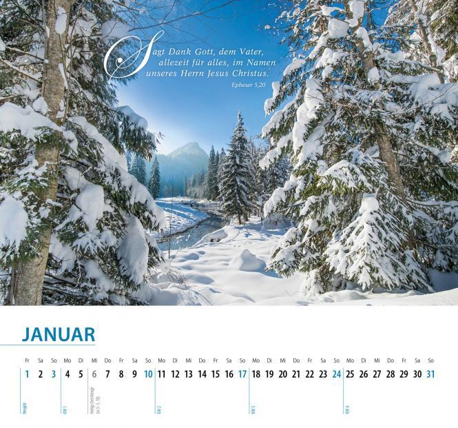 Schöpfung 2021 Wandkalender