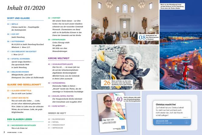 Unsere Familie, 2020, Ausgabe 01 + Wir Kinder, Thema: Lachen