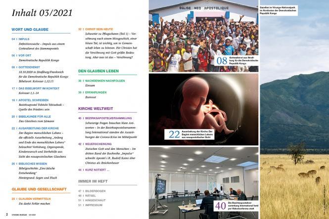 Unsere Familie, 2021, Ausgabe 03 + Wi Ki, Thema: Sich entscheiden