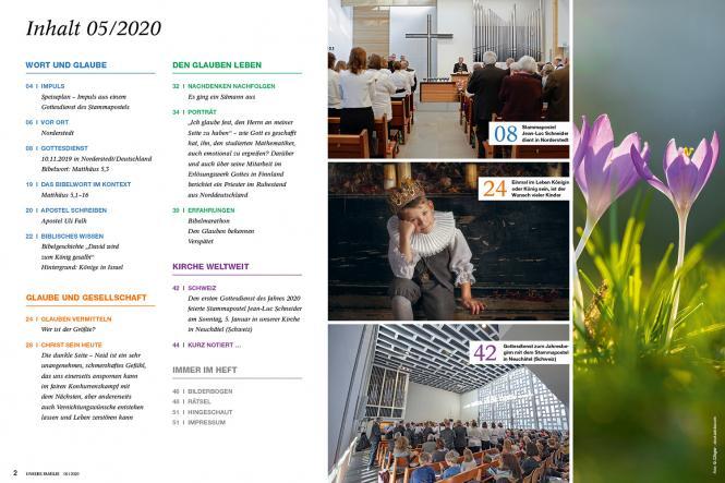 Unsere Familie, 2020, Ausgabe 03 + Wir Kinder, Thema: Bibel