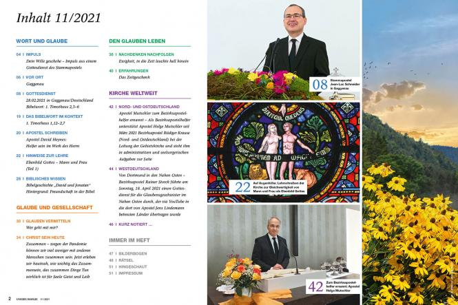 Unsere Familie, 2021, Ausgabe 11 + Wir Kinder, Thema: Freunde