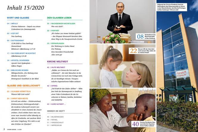 Unsere Familie, 2020, Ausgabe 15 + Wir Kinder: Heilen