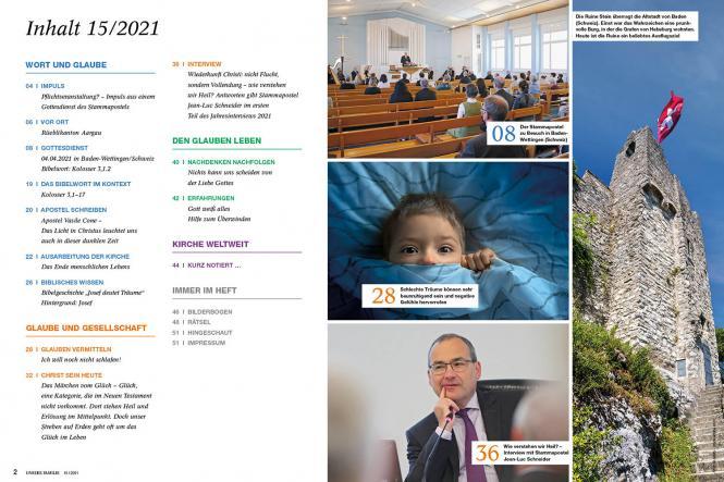 Unsere Familie, 2021, Ausgabe 15 + Wir Kinder: Träume