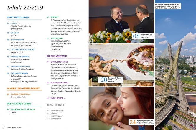 Unsere Familie, 2019, Ausgabe 21 + Wir Kinder, Thema: Ägypten