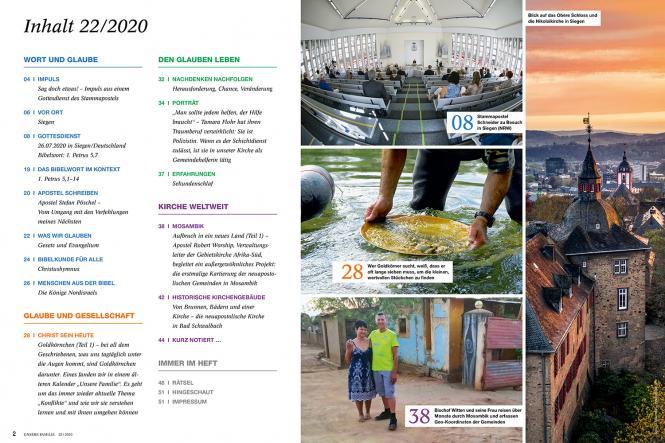 Unsere Familie, 2020, Ausgabe 22