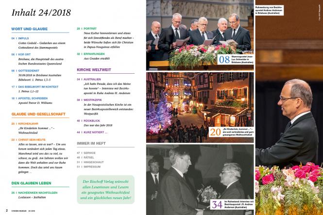Unsere Familie, 2018, Ausgabe 24 + spirit, Thema: Lobpreis