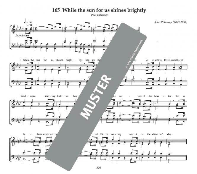 Organist Hymnal Orgelbuch zum Gesangbuch, englisch