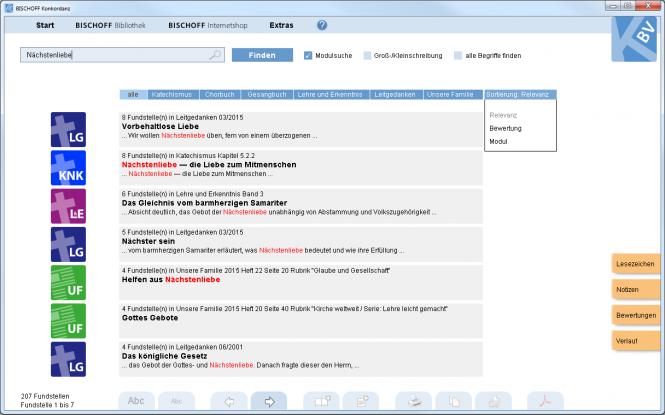 BISCHOFF Konkordanz (Software)