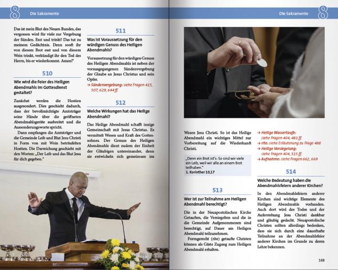 Katechismus Fragen/Antworten, deut. illustriert/farbig
