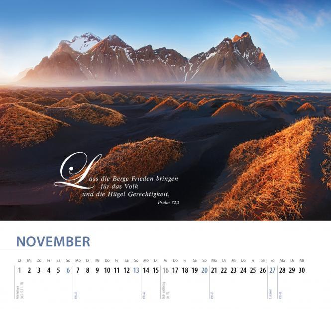 Schöpfung 2022 Wandkalender