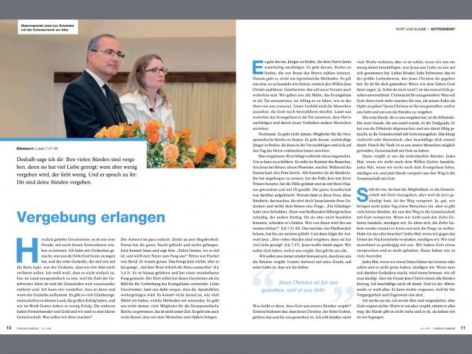 Unsere Familie, Kombi-Abo (Deutschland) Lieferung über den Verlagsbeauftragten