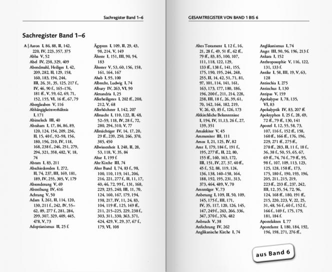 Gesamtausgabe Lehre und ... 6 Bände im Schmuckschuber
