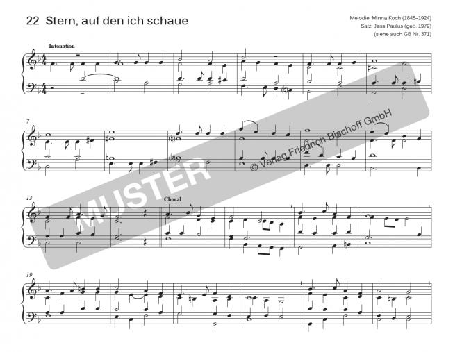 Leichte Orgelstücke, Band 2 (Notensammlung)