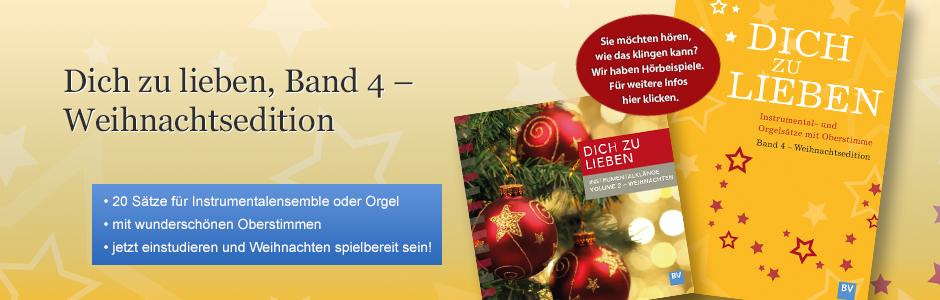 04 Banner Dich zu lieben - Weihnachten